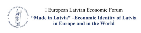 I European-Latvian Economic Forum